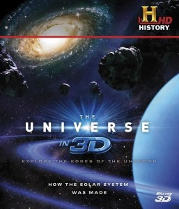 Universe In 3D: How The Solar System Was Made 3D Blu-Ray - GOHCBD6598