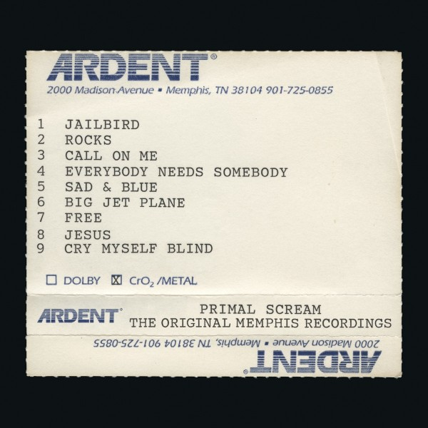 Primal Scream - Give Out But Dont Give Up: The Original Memphis Recordings VINYL - 19075815741