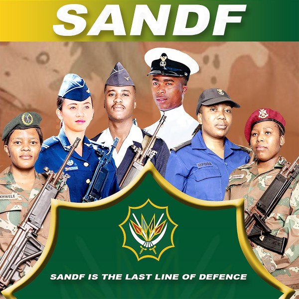 SANDF Is the Last Line of Defence CD - CDGMP 1829