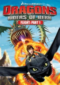 DreamWorks Dragons: Riders of Berk - Flight Part 1 DVD - 56958/1 DVDF