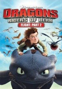 DreamWorks Dragons: Riders of Berk - Flight Part 2 DVD - 56958/2 DVDF