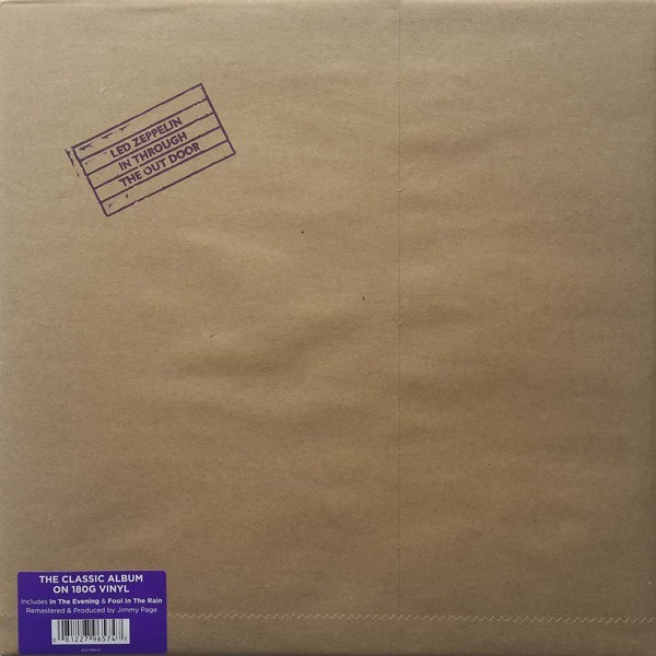 Led Zeppelin - In Through the Out Door (Remastered) VINYL - 0081227965747