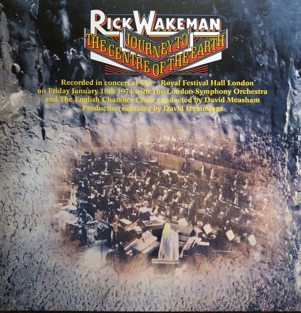 Rick Wakeman - Journey To The Centre Of The Earth VINYL - 06007 5363460