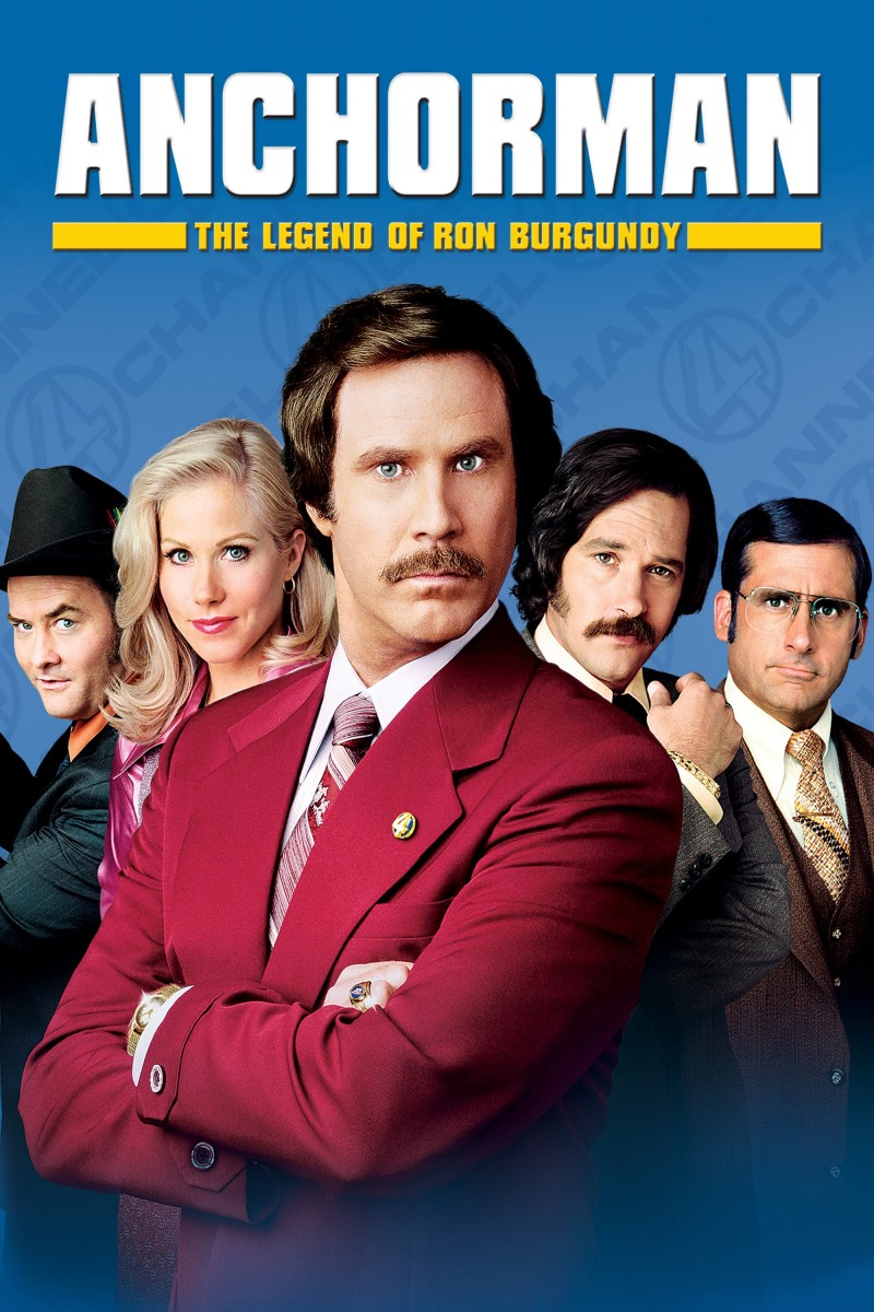 Anchorman: The Legend of Ron Burgundy DVD - 9490