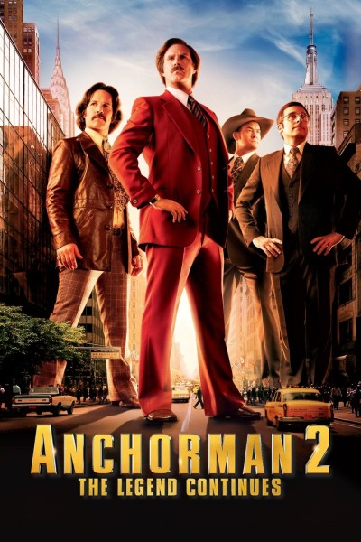 Anchorman 2: The Legend Continues DVD - UK138149 DVDP