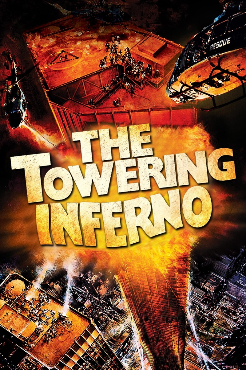 The Towering Inferno DVD - 11253 DVDW