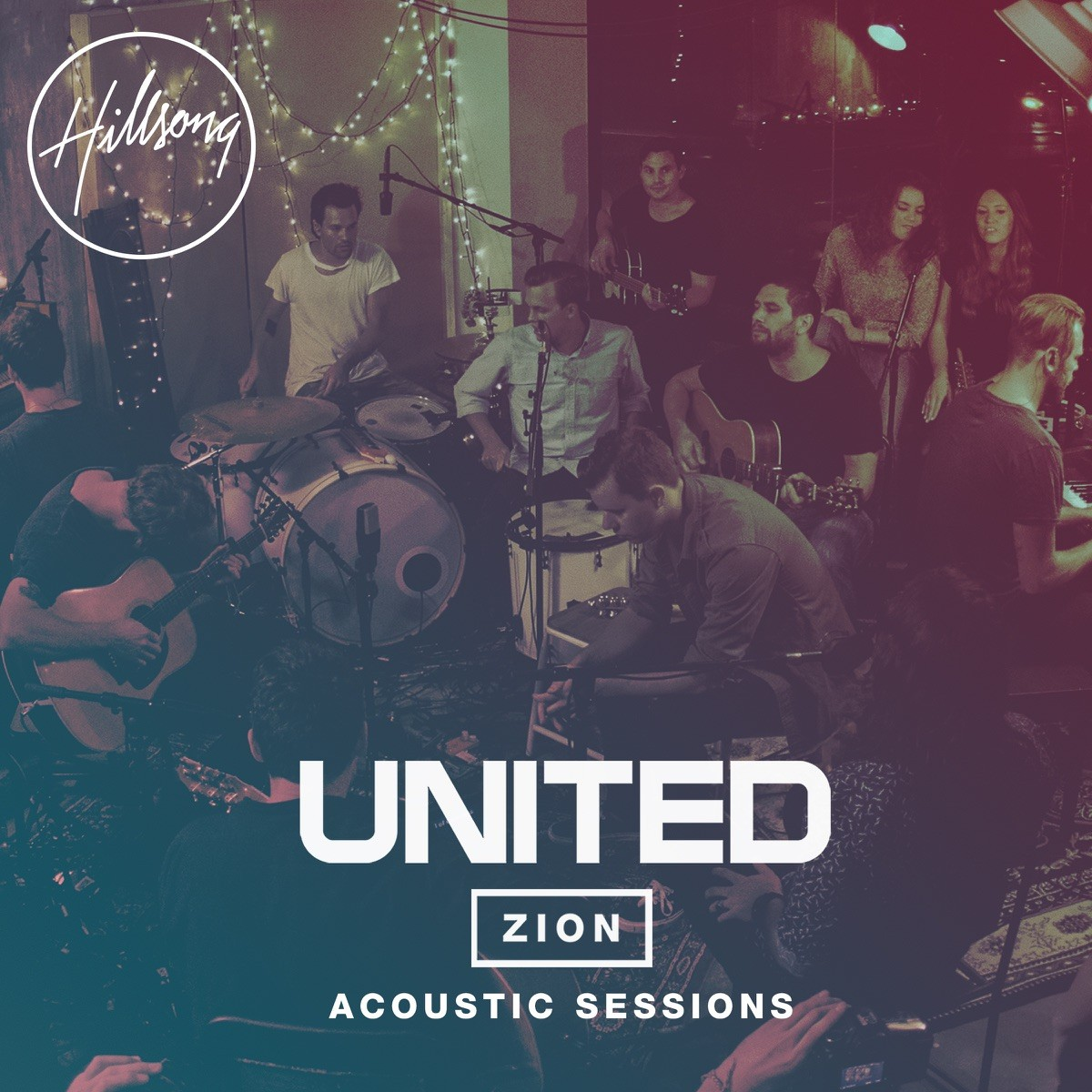 Hillsong United - Zion Acoustic Sessions CD+DVD - HMACDDVD283