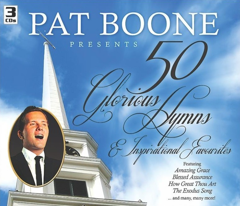 Pat Boone - 50 Glorious Hymns & Inspirational Favourites CD - CDWWMD3659