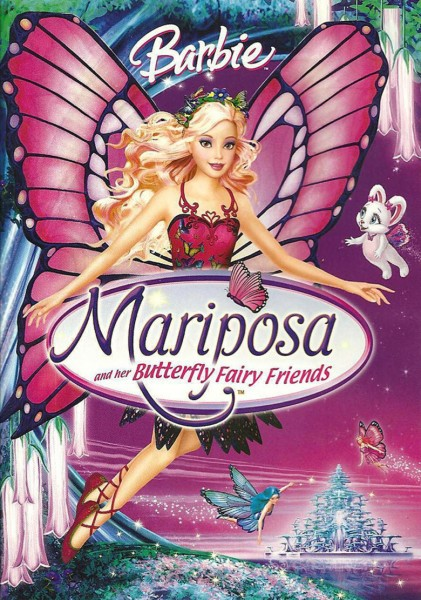 Barbie Mariposa and Her Butterfly Fairy Friends DVD - 49118 DVDU