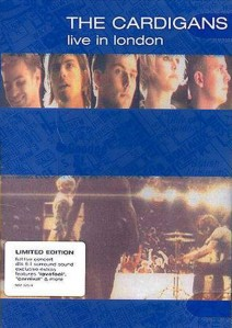 The Cardigans - Live In London DVD - 06024 9823256