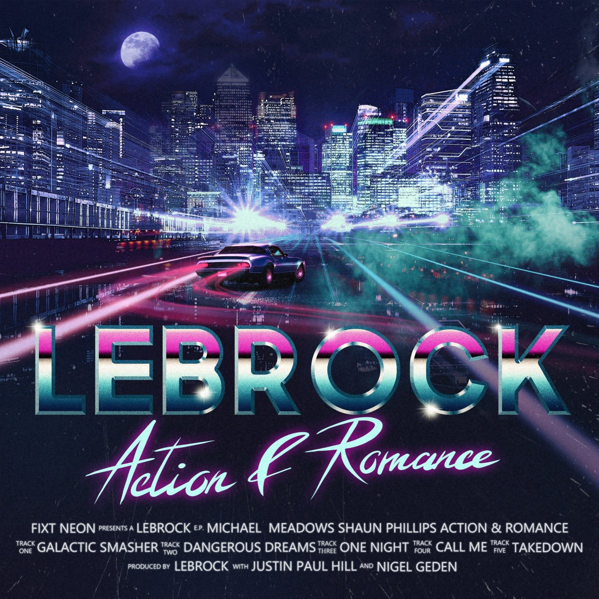 Lebrock - Real Thing/Action & Romance VINYL - FXT821