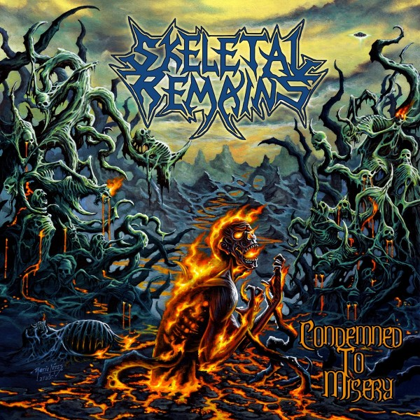 Skeletal Remains - Condemned To Misery (Remastered 2020) VINYL - 19439816601