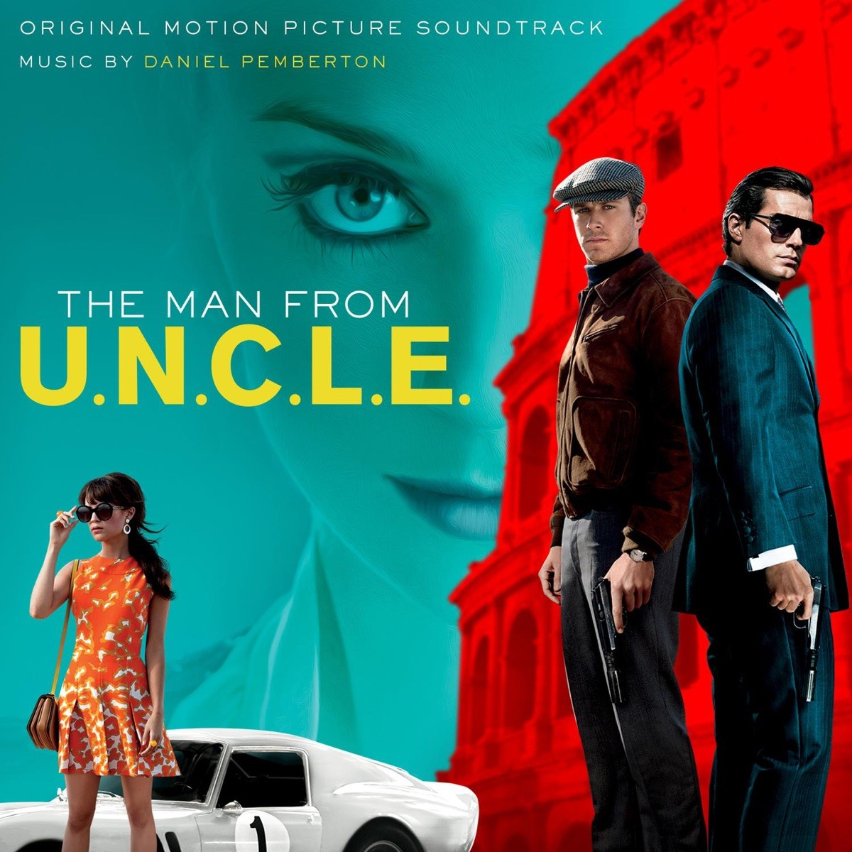 The Man from U.N.C.L.E. (Original Motion Picture Soundtrack) VINYL - MOVATY56