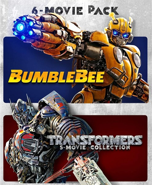 Bumblebee & Transformers Ultimate 6-Movie Collection DVD - 90575 DVDP