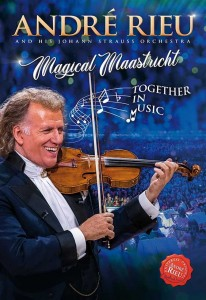 Andre Rieu - Magical Maastricht - Together In Music DVD - 744475488482
