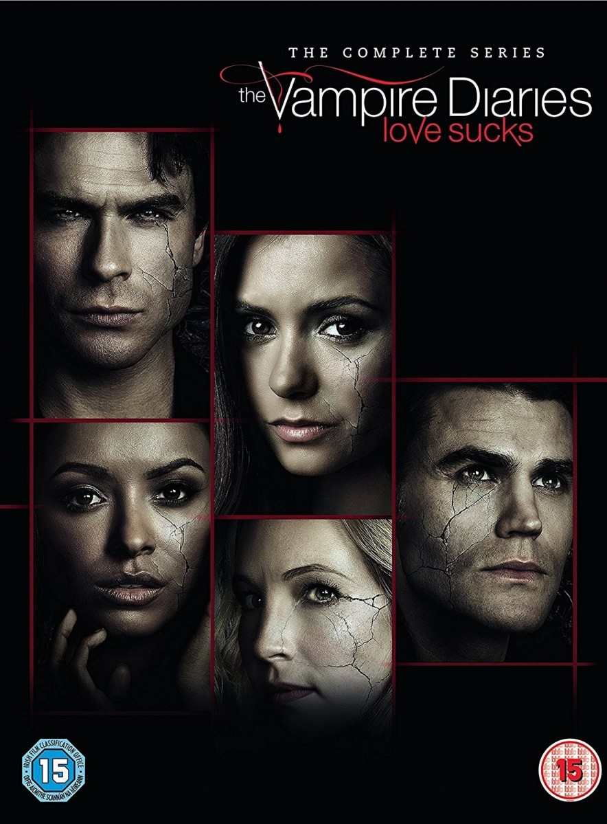 The Vampire Diaries Seasons 1 To 8 - The Complete Series DVD - 1000637795