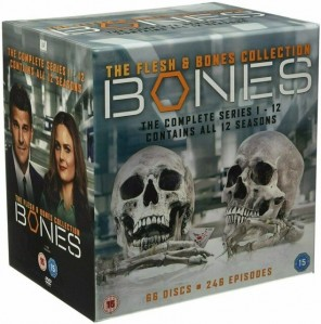 Bones Seasons 1 To 12 Complete Collection DVD - 7858201000