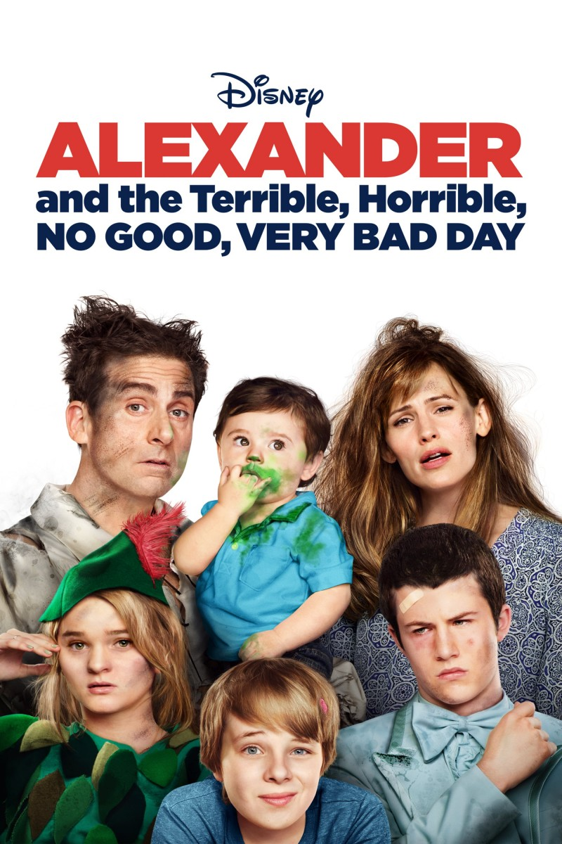 Alexander and the Terrible, Horrible, No Good, Very Bad Day DVD - BUA0248201