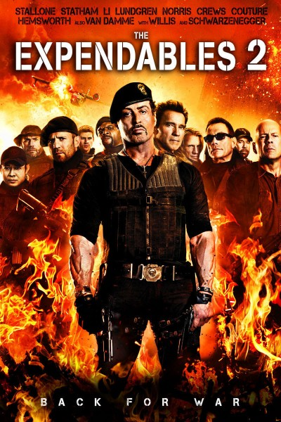 The Expendables 2 DVD - LGD94967