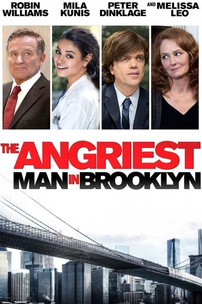 The Angriest Man in Brooklyn DVD - SIG257