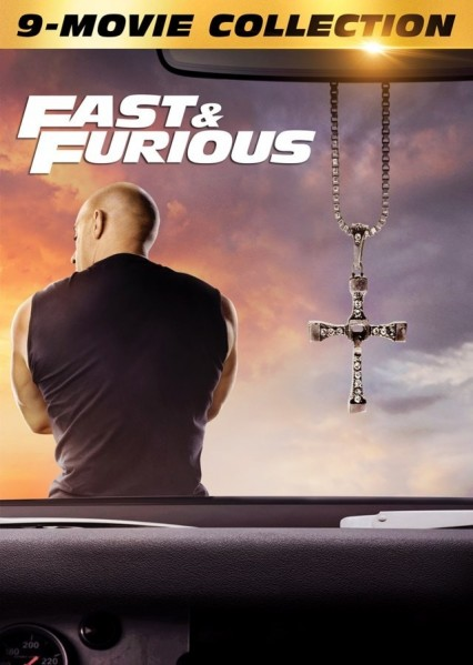 The Fast and The Furious 1 to 9 Collection DVD - 1000806041