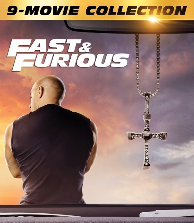 The Fast and The Furious 1 to 9 Collection Blu-Ray - 1000806040