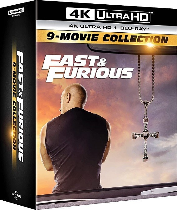 The Fast and The Furious 1 to 9 Collection 4K UHD - 1000806042