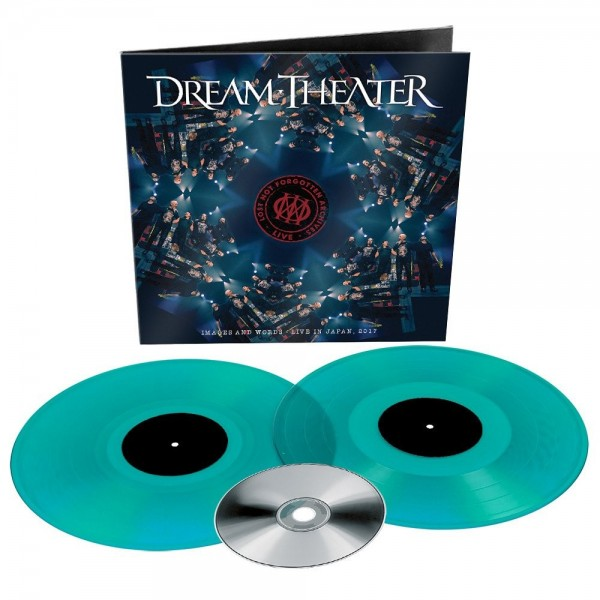 Dream Theater - Lost Not Forgotten Archives: Images and Words - Live in Japan, 2017 (Turquoise Viny) VINYL+CD - 0194398787312