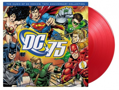 The Music of DC Comics - 75th Anniversary Collection (Red Vinyl) VINYL - 8719262015241