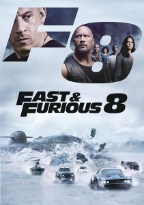 The Fast and The Furious 8 - The Fate of the Furious DVD - 1000796650