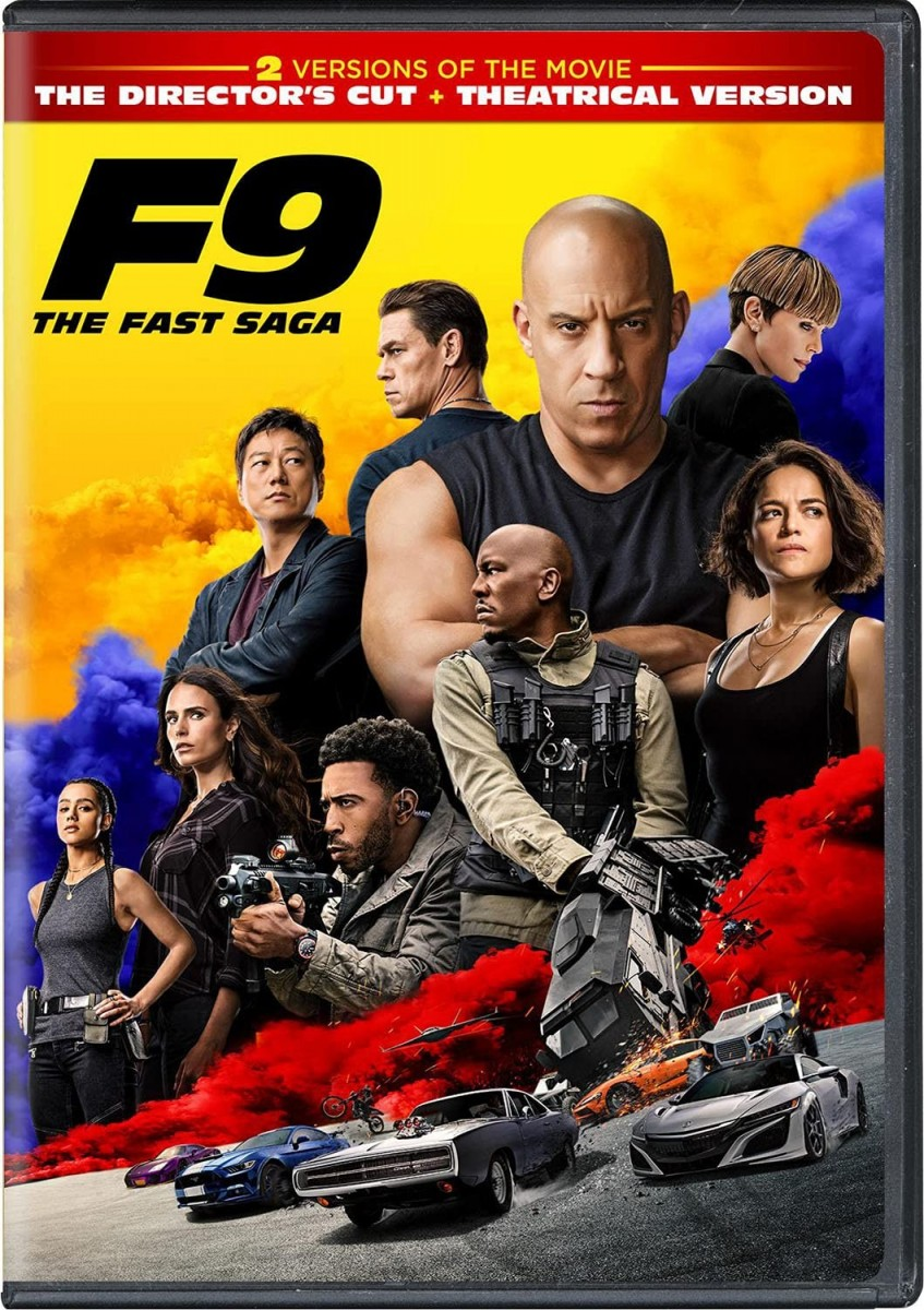 The Fast And The  Furious 9 DVD - 1000799525