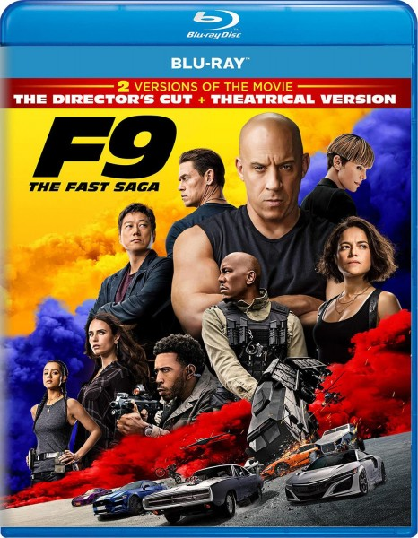 The Fast And The  Furious 9 Blu-Ray - 1000799526
