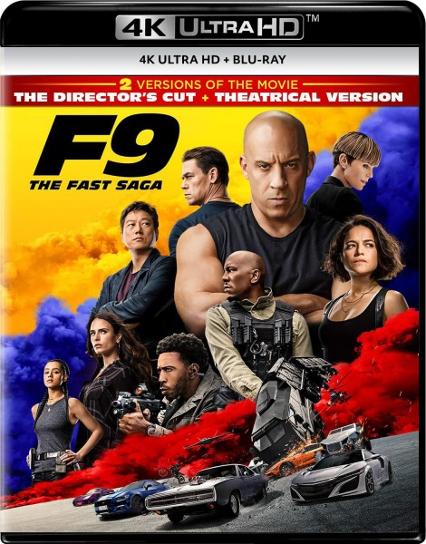The Fast And The  Furious 9 4K UHD+Blu-Ray - 1000804810