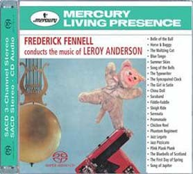 "Eastman-Rochester ""Pops"" Orchestra, Frederick Fennell - Music Of Leroy Anderson CD - 00289 4756942"