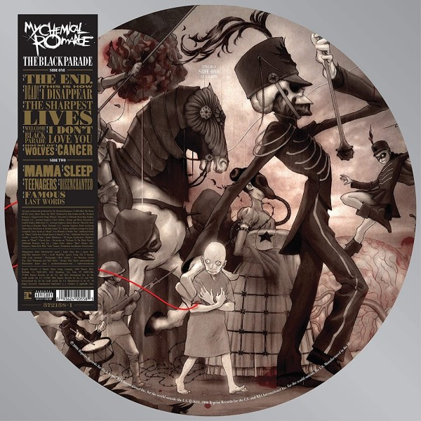 My Chemical Romance - The Black Parade (Picture Disc) VINYL - RPRW572158