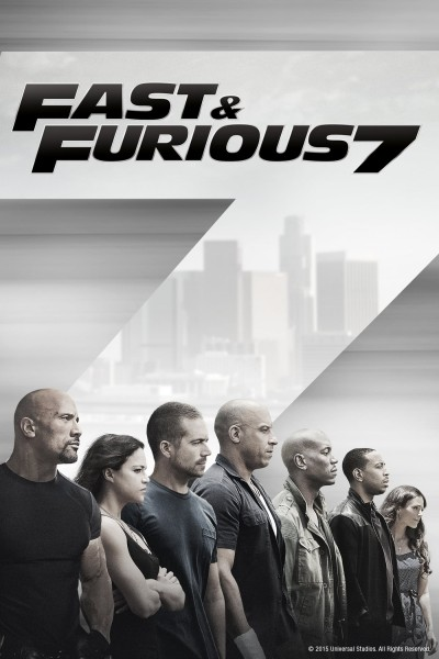 The Fast And The Furious: Furious 7 DVD - 1000793805