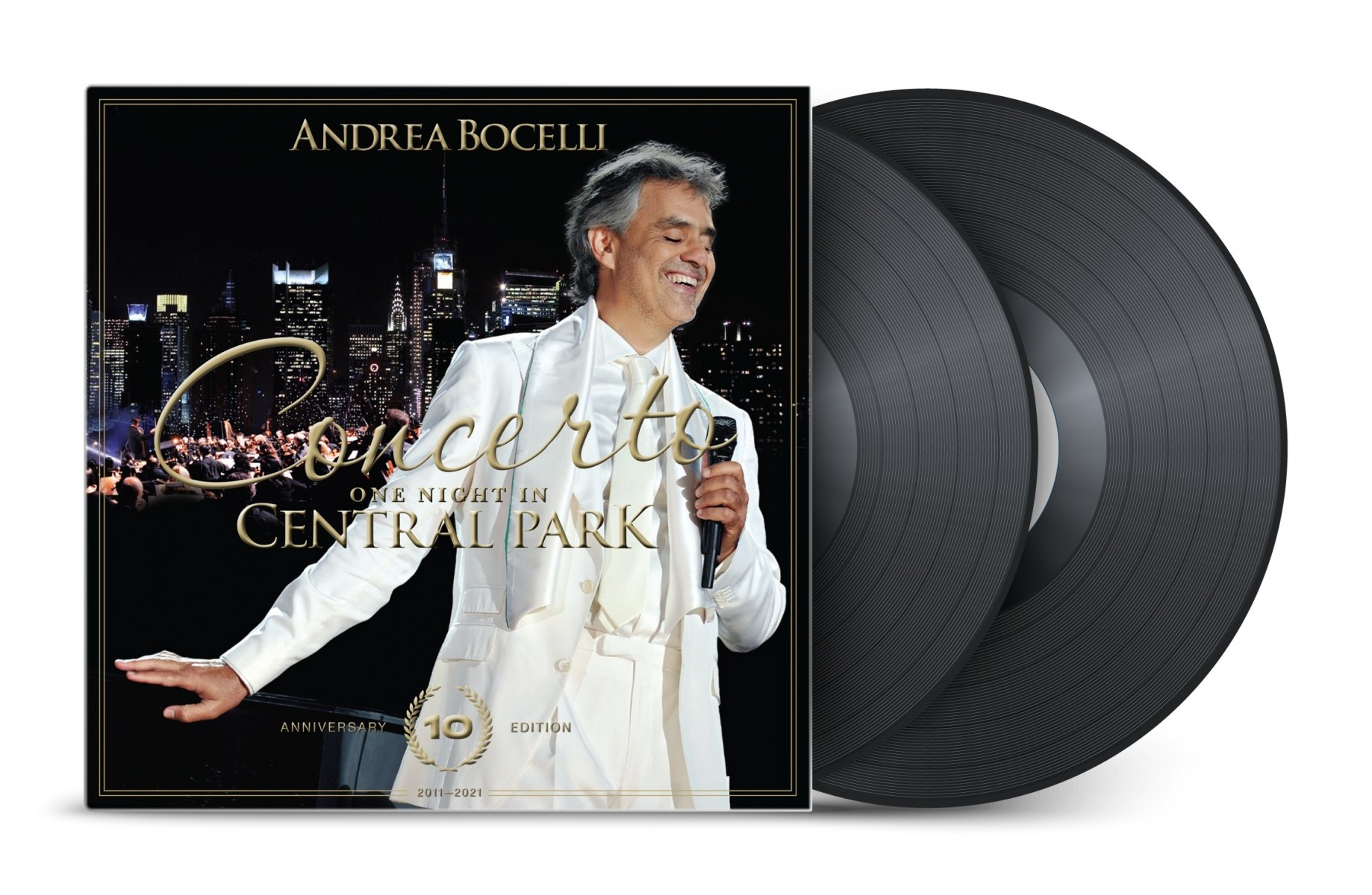 Andrea Bocelli - Concerto: One Night in Central Park - 10th Anniversary (Live at Central Park, New York / 2011) VINYL - 060254719365