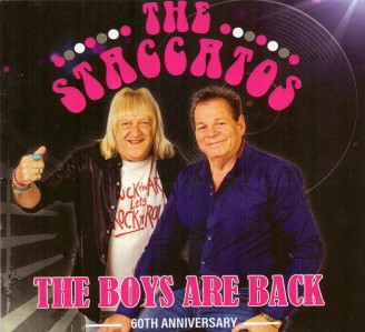 The Staccatos - The Boys Are Back CD - STACCATOS