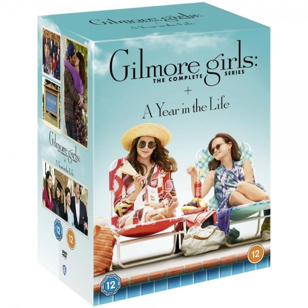 Gilmore Girls Seasons 1 To 8 Complete Collection DVD - 1000693234
