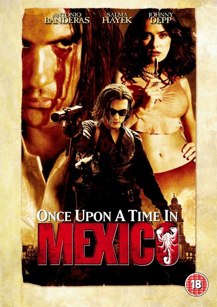 Once Upon a Time in Mexico DVD - C8258493