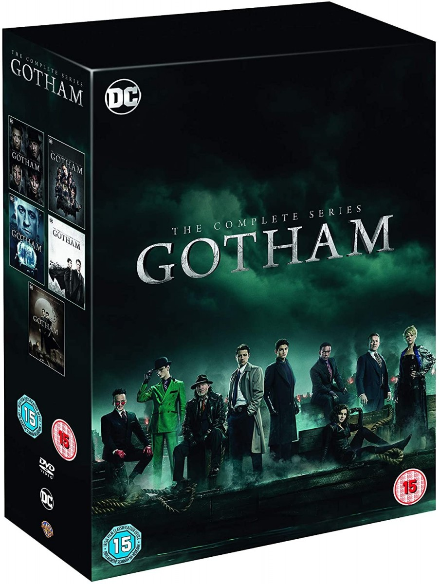 Gotham Season 1 To 5 Complete Collection DVD - 1000740327