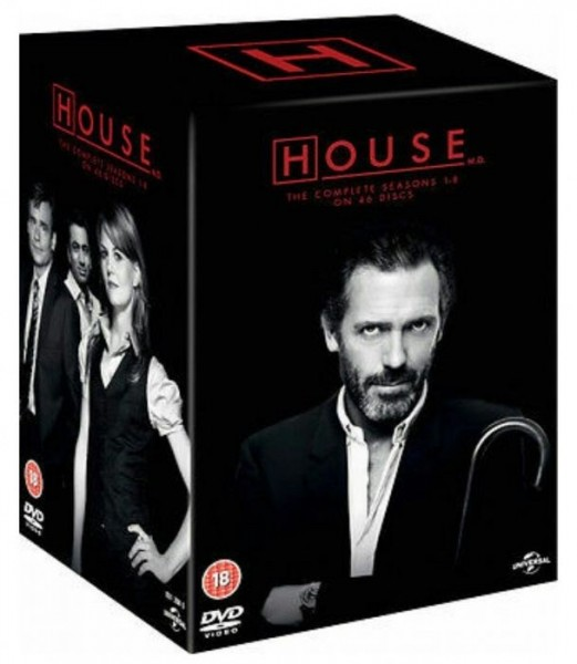 House MD Season 1 To 8 Complete Collection DVD - 1000793269