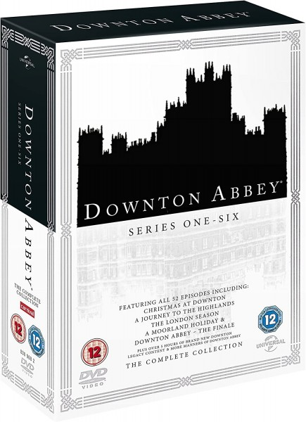 Downton Abbey Series 1 To 6 Complete Collection DVD - 1000794461