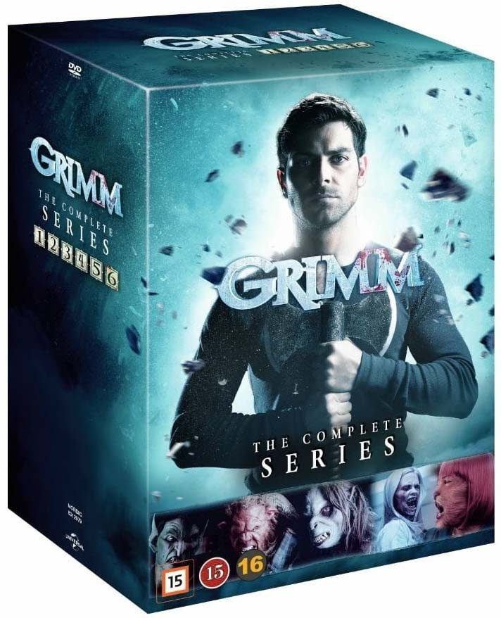Grimm Season 1 To 6 Complete Collection DVD - 1000794742