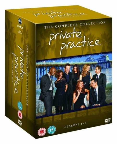 Private Practice Season 1 To 6 Complete Collection DVD - BUG0204101