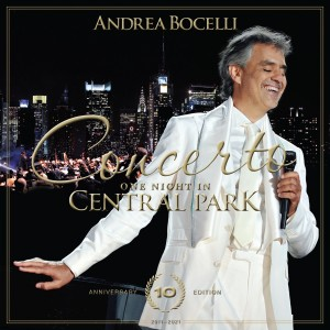 Andrea Bocelli - Concerto: One Night in Central Park - 10th Anniversary (Live at Central Park, New York / 2011) CD - 060243840477