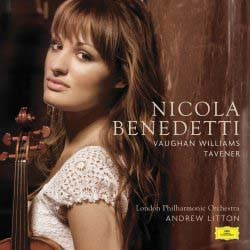 Nicola Benedetti - Vaughan-Williams And Tavener CD - 00289 4766198