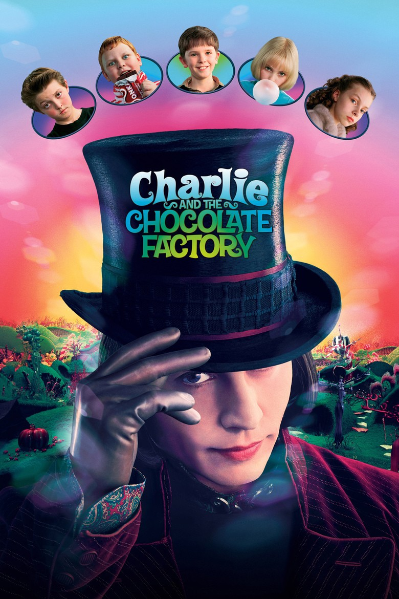Charlie and the Chocolate Factory DVD - 59337 DVDW