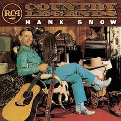 Hank Snow - Rca Country Legends CD - 74465997892