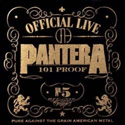 Pantera - Official Live: 101 Proof CD - 7559620682